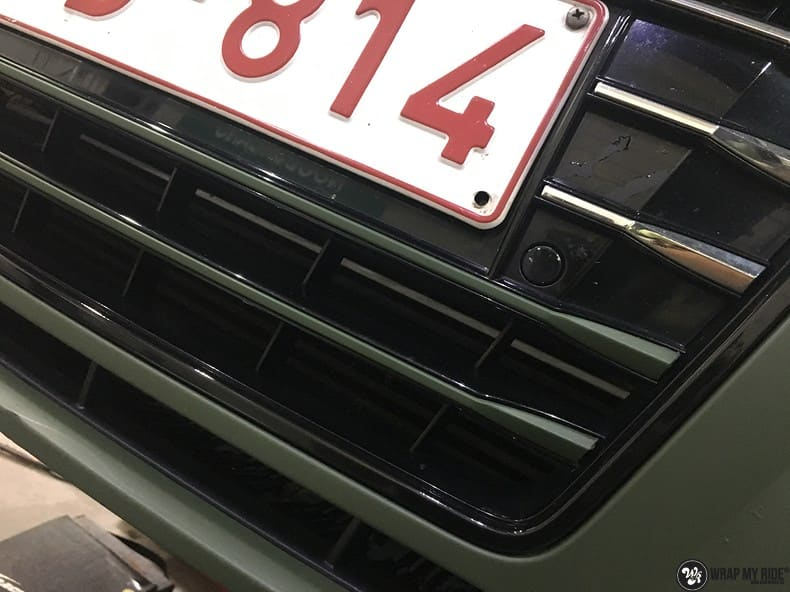 Audi A7 matte military green, Carwrapping door Wrapmyride.nu Foto-nr:9975, ©2018