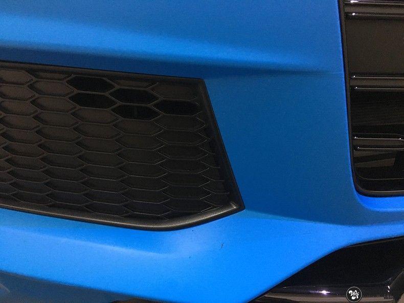 Audi S1 3m matte minerva bleu, Carwrapping door Wrapmyride.nu Foto-nr:11614, ©2020