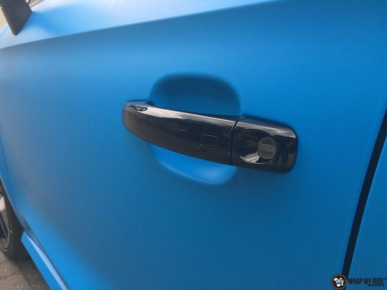 Audi S1 3m matte minerva bleu, Carwrapping door Wrapmyride.nu Foto-nr:11630, ©2020