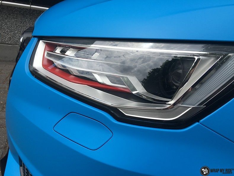 Audi S1 3m matte minerva bleu, Carwrapping door Wrapmyride.nu Foto-nr:11639, ©2020
