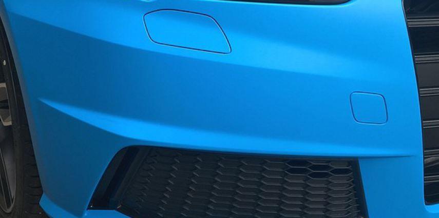 Audi S1 3m matte minerva bleu