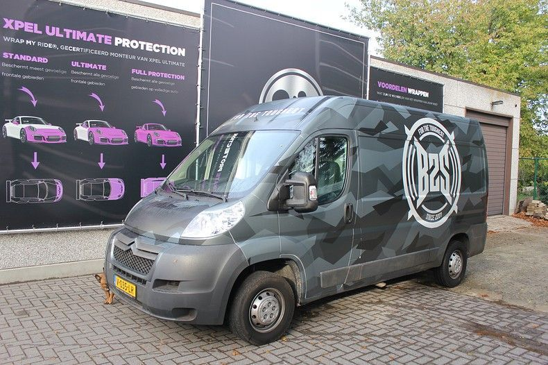B2S CAMO wrap for the toughest, Carwrapping door Wrapmyride.nu Foto-nr:12404, ©2019
