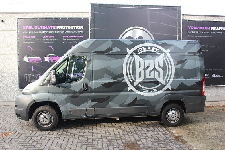 B2S CAMO wrap for the toughest, Carwrapping door Wrapmyride.nu Foto-nr:12402, ©2019