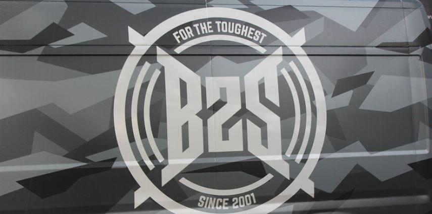 B2S CAMO wrap for the toughest