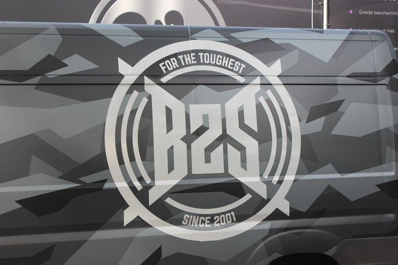 B2S CAMO wrap for the toughest, Carwrapping door Wrapmyride.nu Foto-nr:12401, ©2021
