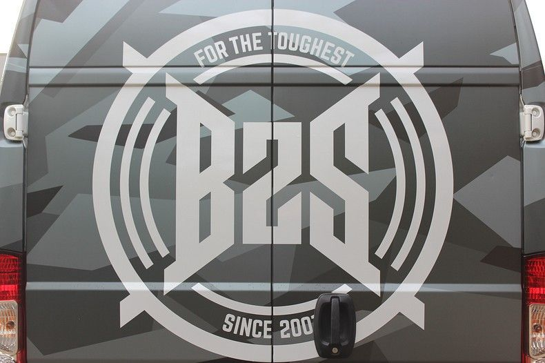B2S CAMO wrap for the toughest, Carwrapping door Wrapmyride.nu Foto-nr:12398, ©2020