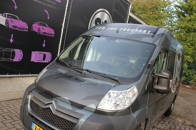 B2S CAMO wrap for the toughest, Carwrapping door Wrapmyride.nu Foto-nr:12393, ©2019