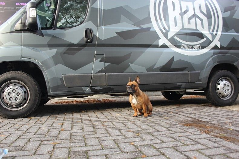 B2S CAMO wrap for the toughest, Carwrapping door Wrapmyride.nu Foto-nr:12386, ©2021