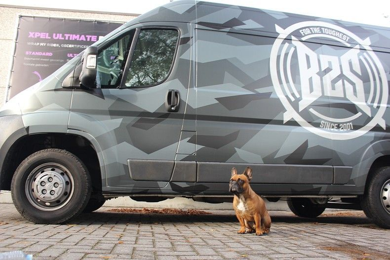 B2S CAMO wrap for the toughest, Carwrapping door Wrapmyride.nu Foto-nr:12385, ©2021