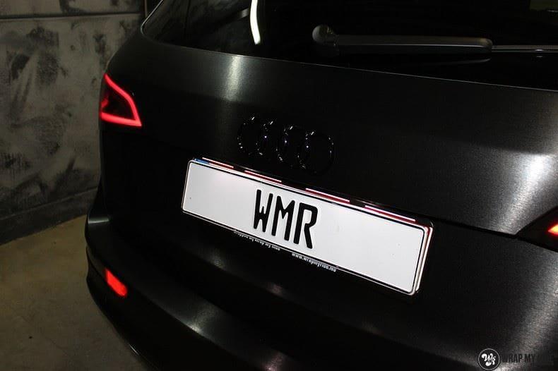 Audi Q5 Brushed black, Carwrapping door Wrapmyride.nu Foto-nr:8395, ©2020