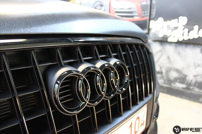Audi Q5 Brushed black, Carwrapping door Wrapmyride.nu Foto-nr:8411, ©2020