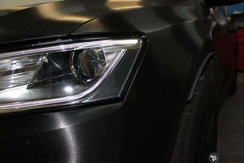 Audi Q5 Brushed black, Carwrapping door Wrapmyride.nu Foto-nr:8420, ©2020