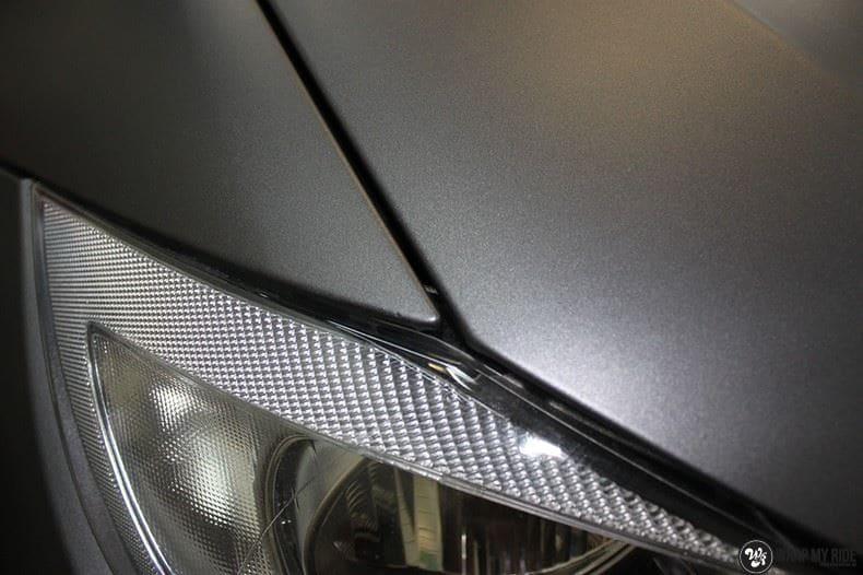 BMw 3-serie mat dark grey, Carwrapping door Wrapmyride.nu Foto-nr:8468, ©2021