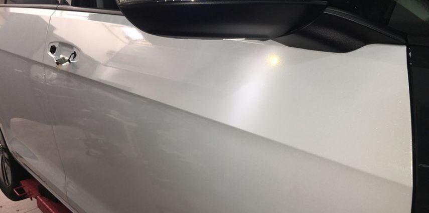 vw e-golf 3m glosse white gold sparkle