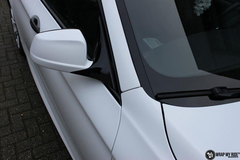 BMW F10 Satin frozen vanilla, Carwrapping door Wrapmyride.nu Foto-nr:9457, ©2021