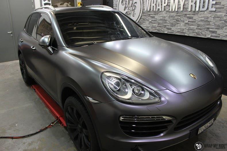 Porsche Cayenne, Carwrapping door Wrapmyride.nu Foto-nr:9604, ©2018