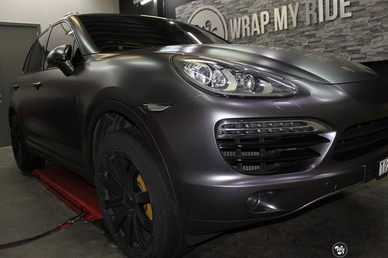 Porsche Cayenne, Carwrapping door Wrapmyride.nu Foto-nr:9603, ©2018