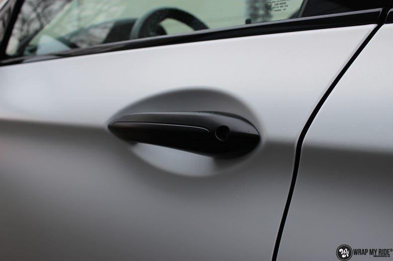 BMW F10 Satin frozen vanilla, Carwrapping door Wrapmyride.nu Foto-nr:9452, ©2018