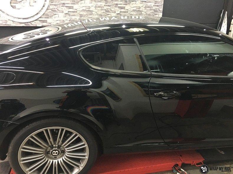 Bentley Continental speed ontchromen, Carwrapping door Wrapmyride.nu Foto-nr:11510, ©2021