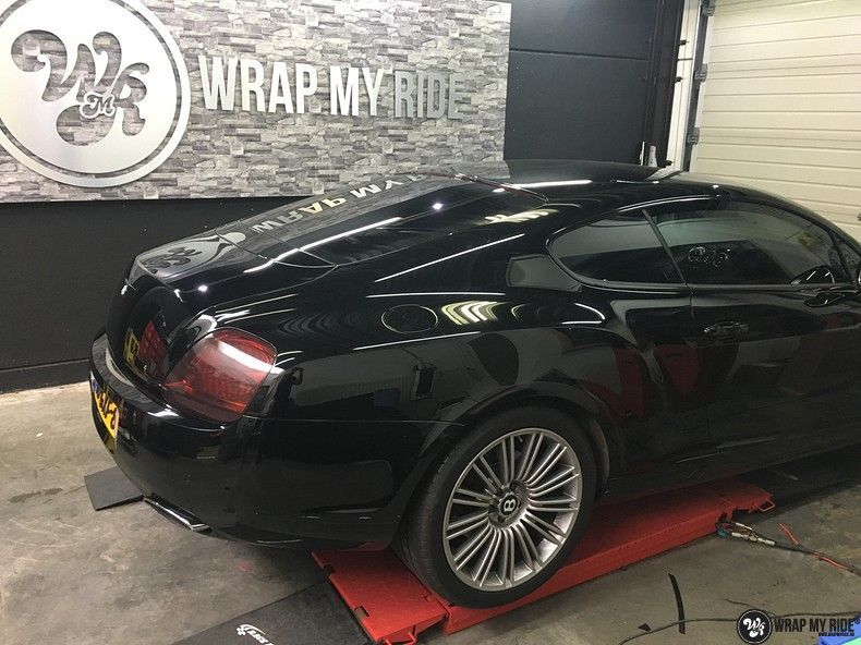 Bentley Continental speed ontchromen, Carwrapping door Wrapmyride.nu Foto-nr:11514, ©2021