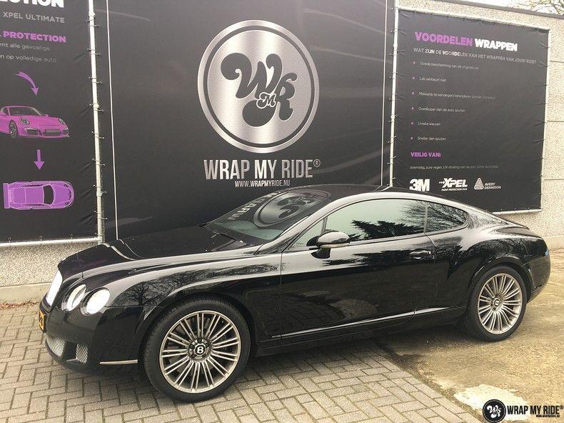 Bentley Continental speed ontchromen, Carwrapping door Wrapmyride.nu Foto-nr:11507, ©2021