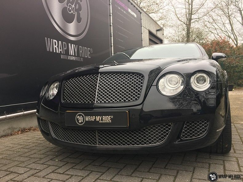 Bentley Continental speed ontchromen, Carwrapping door Wrapmyride.nu Foto-nr:11500, ©2020