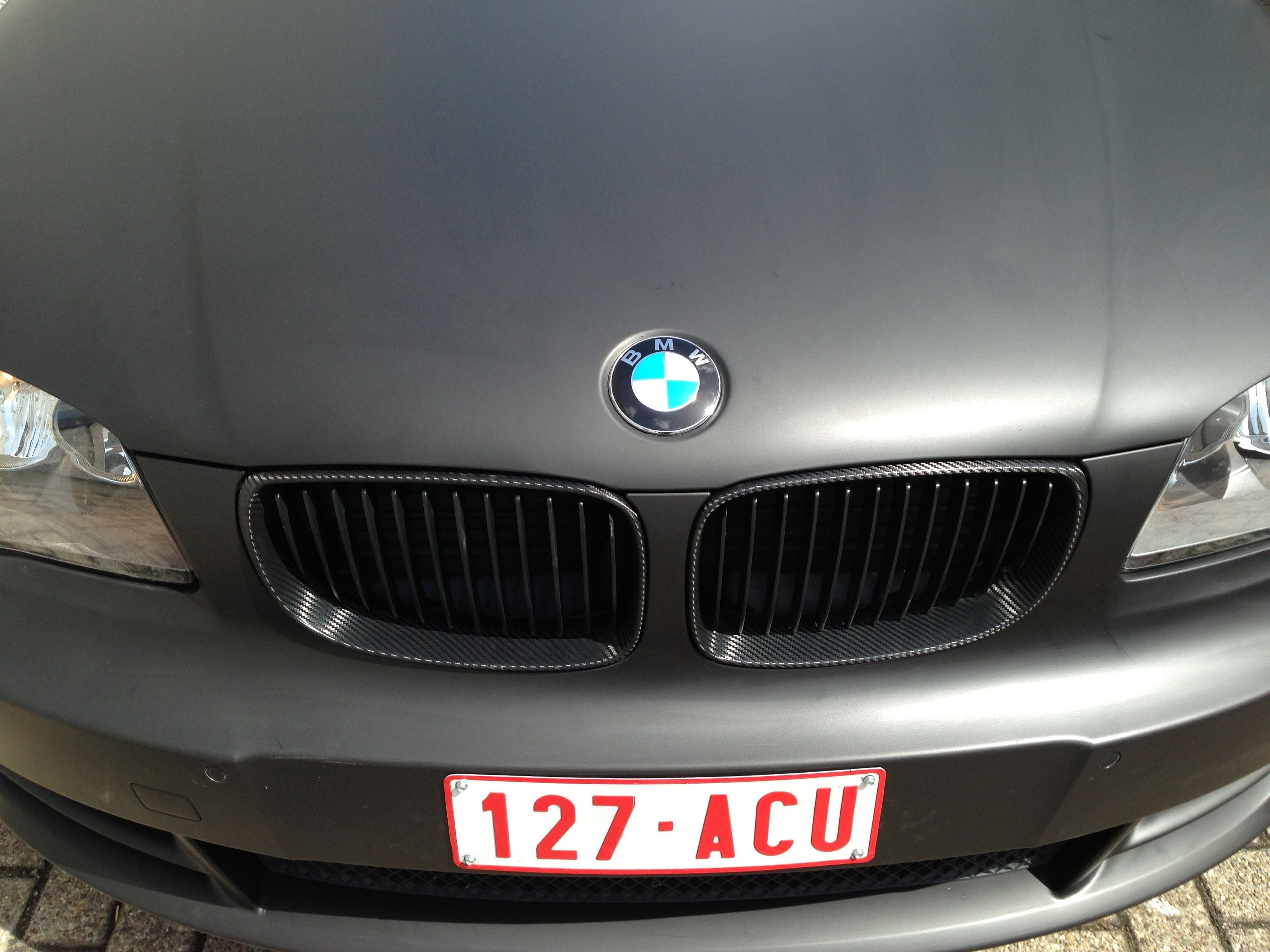 BMW 1 Serie Cabrio met Mat Zwarte Wrap, Carwrapping door Wrapmyride.nu Foto-nr:5194, ©2021