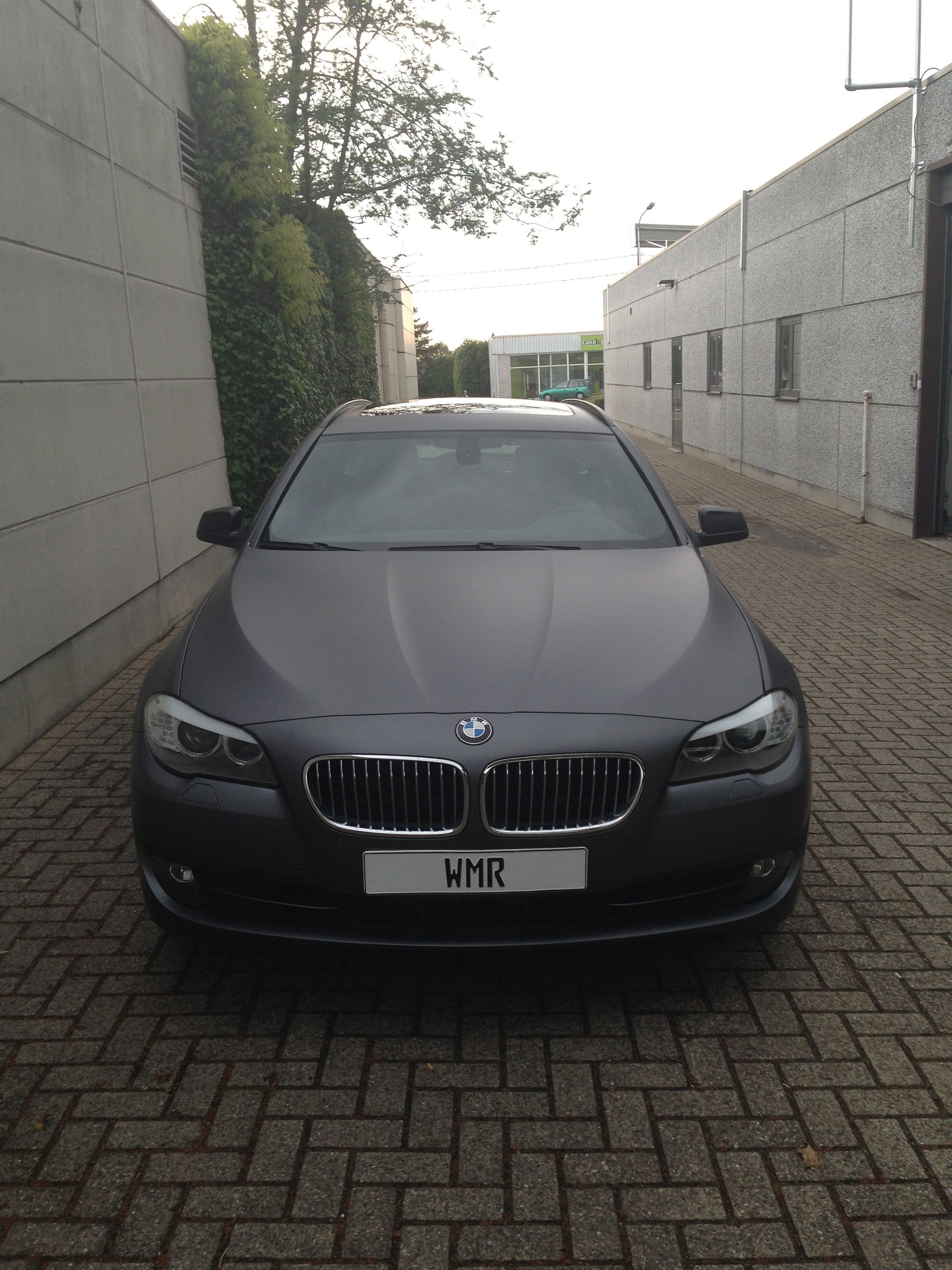 BMW 5 Serie met Gunpowder Wrap, Carwrapping door Wrapmyride.nu Foto-nr:5265, ©2021