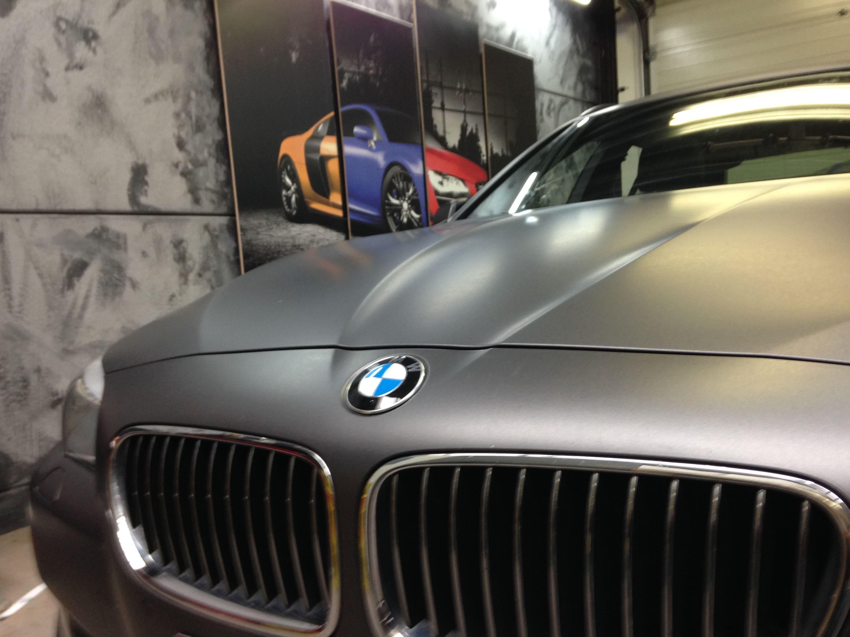 BMW 5 Serie met Gunpowder Wrap, Carwrapping door Wrapmyride.nu Foto-nr:5268, ©2021