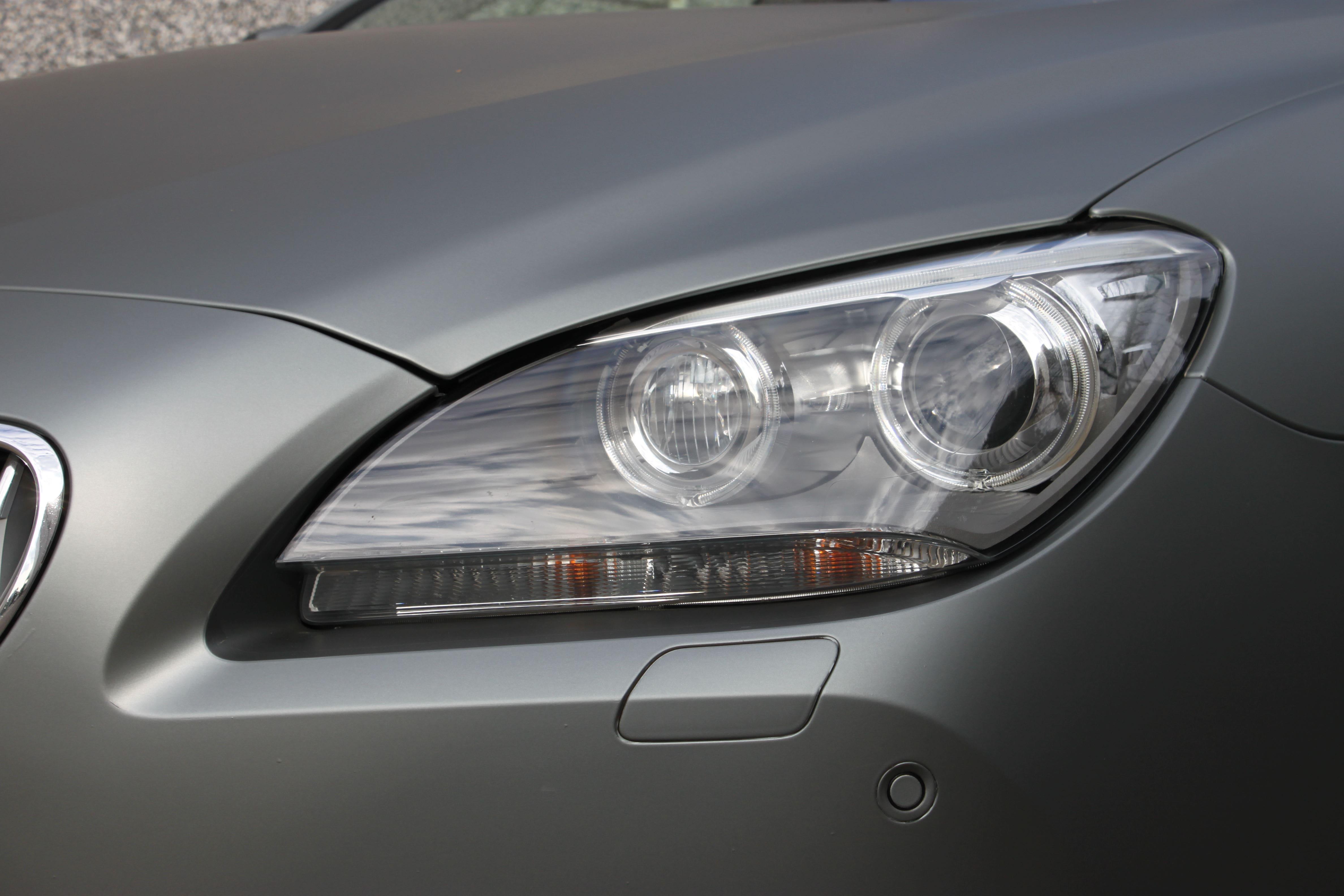 BMW 650i met Mat Antraciet Metallic Avery Wrap, Carwrapping door Wrapmyride.nu Foto-nr:5282, ©2020