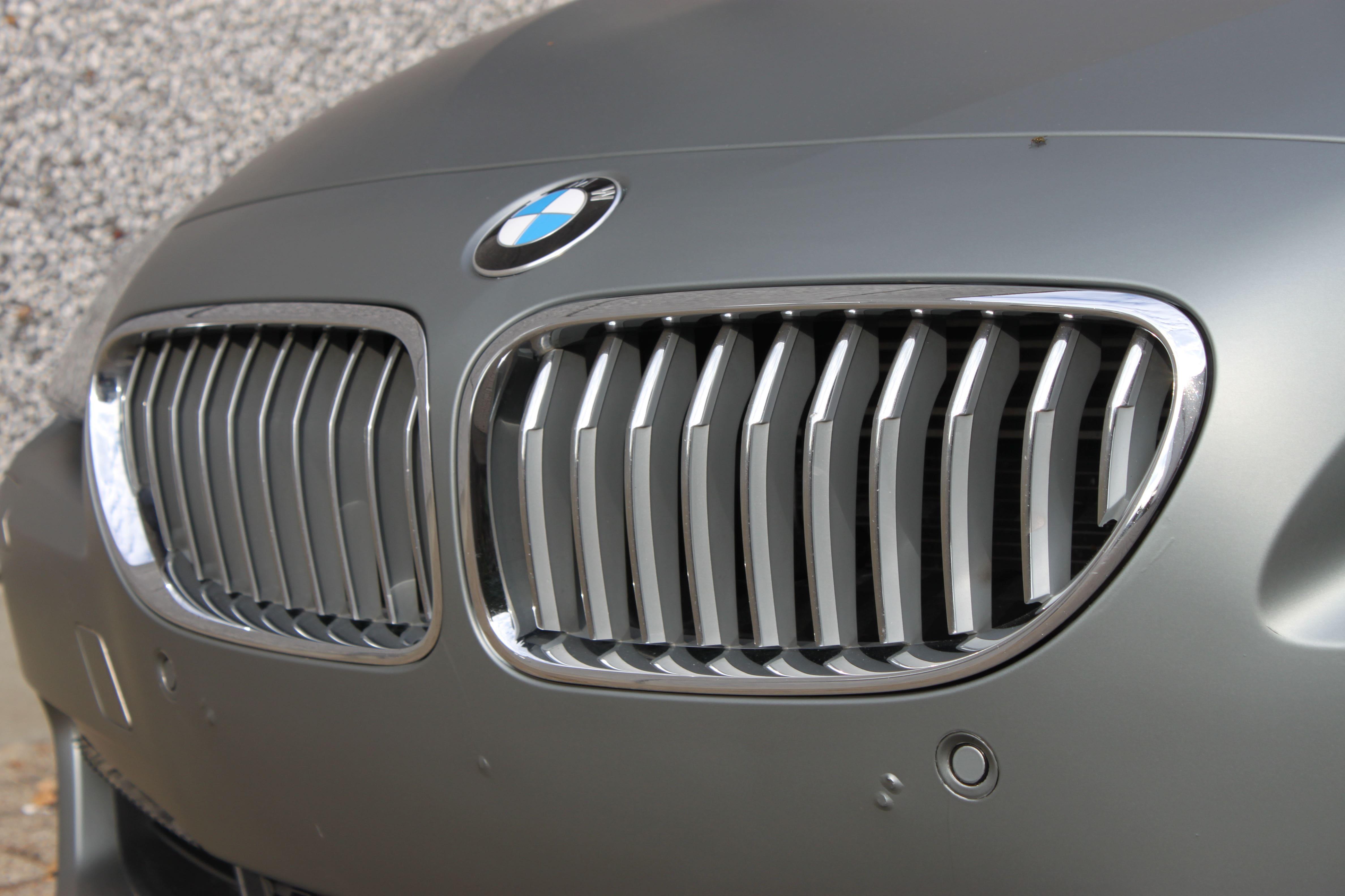 BMW 650i met Mat Antraciet Metallic Avery Wrap, Carwrapping door Wrapmyride.nu Foto-nr:5283, ©2020