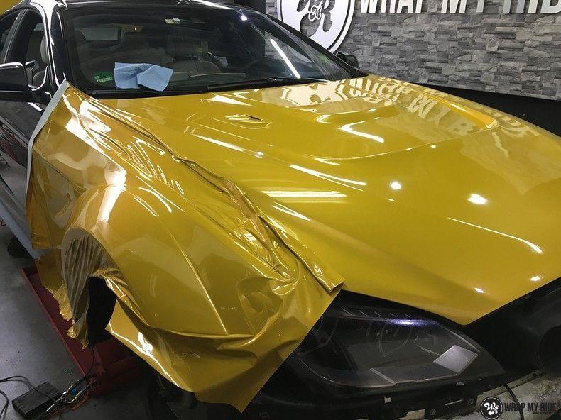 BMW 650i prior-design Solar Yellow, Carwrapping door Wrapmyride.nu Foto-nr:11064, ©2020