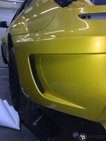 BMW 650i prior-design Solar Yellow, Carwrapping door Wrapmyride.nu Foto-nr:11076, ©2020