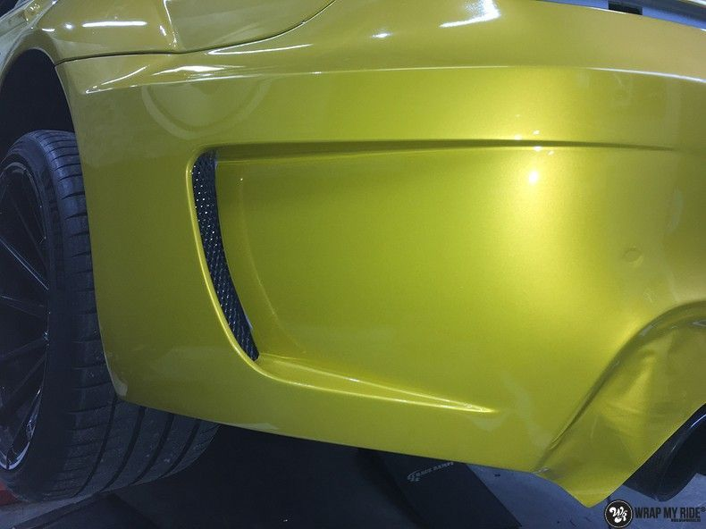 BMW 650i prior-design Solar Yellow, Carwrapping door Wrapmyride.nu Foto-nr:11079, ©2020