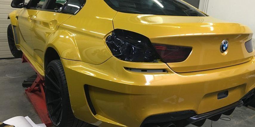 BMW 650i prior-design Solar Yellow