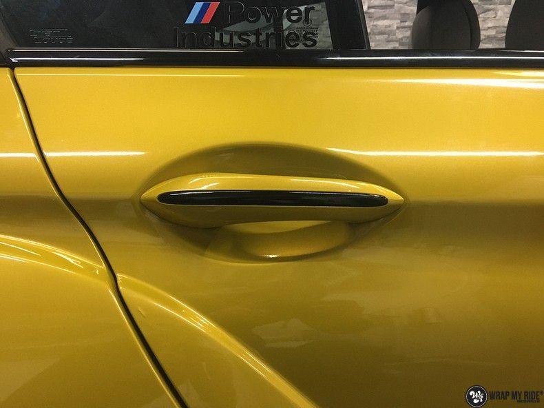 BMW 650i prior-design Solar Yellow, Carwrapping door Wrapmyride.nu Foto-nr:11088, ©2020