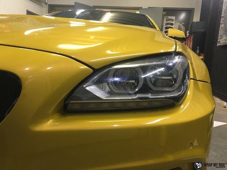BMW 650i prior-design Solar Yellow, Carwrapping door Wrapmyride.nu Foto-nr:11080, ©2020