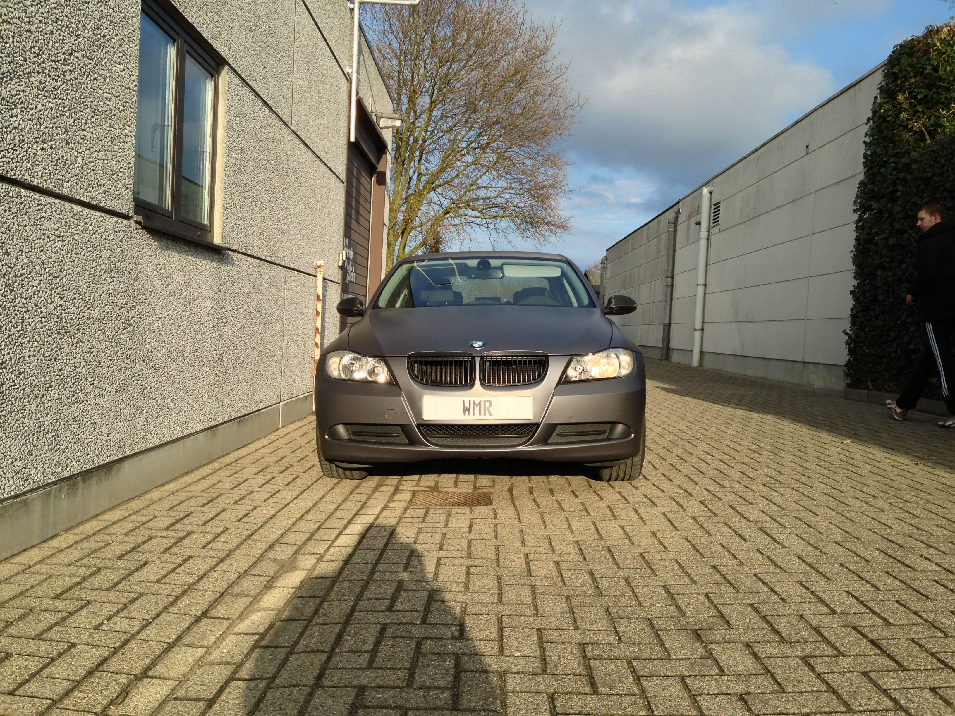 BMW E90 met Gunpowder Wrap, Carwrapping door Wrapmyride.nu Foto-nr:5375, ©2021