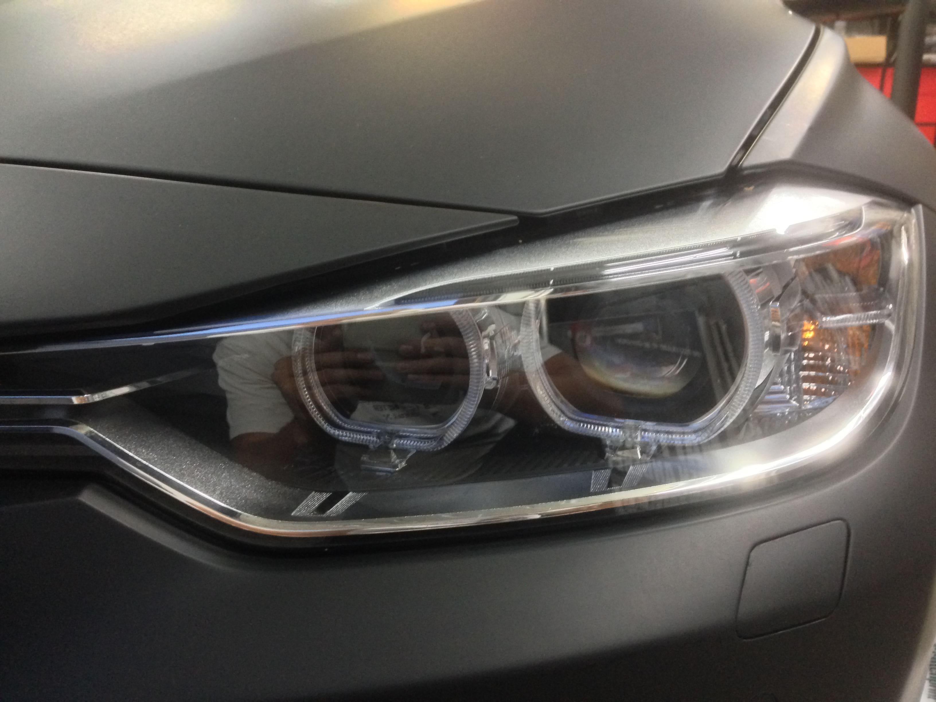 BMW E92 3 Serie met Mat Zwarte Wrap, Carwrapping door Wrapmyride.nu Foto-nr:5405, ©2021