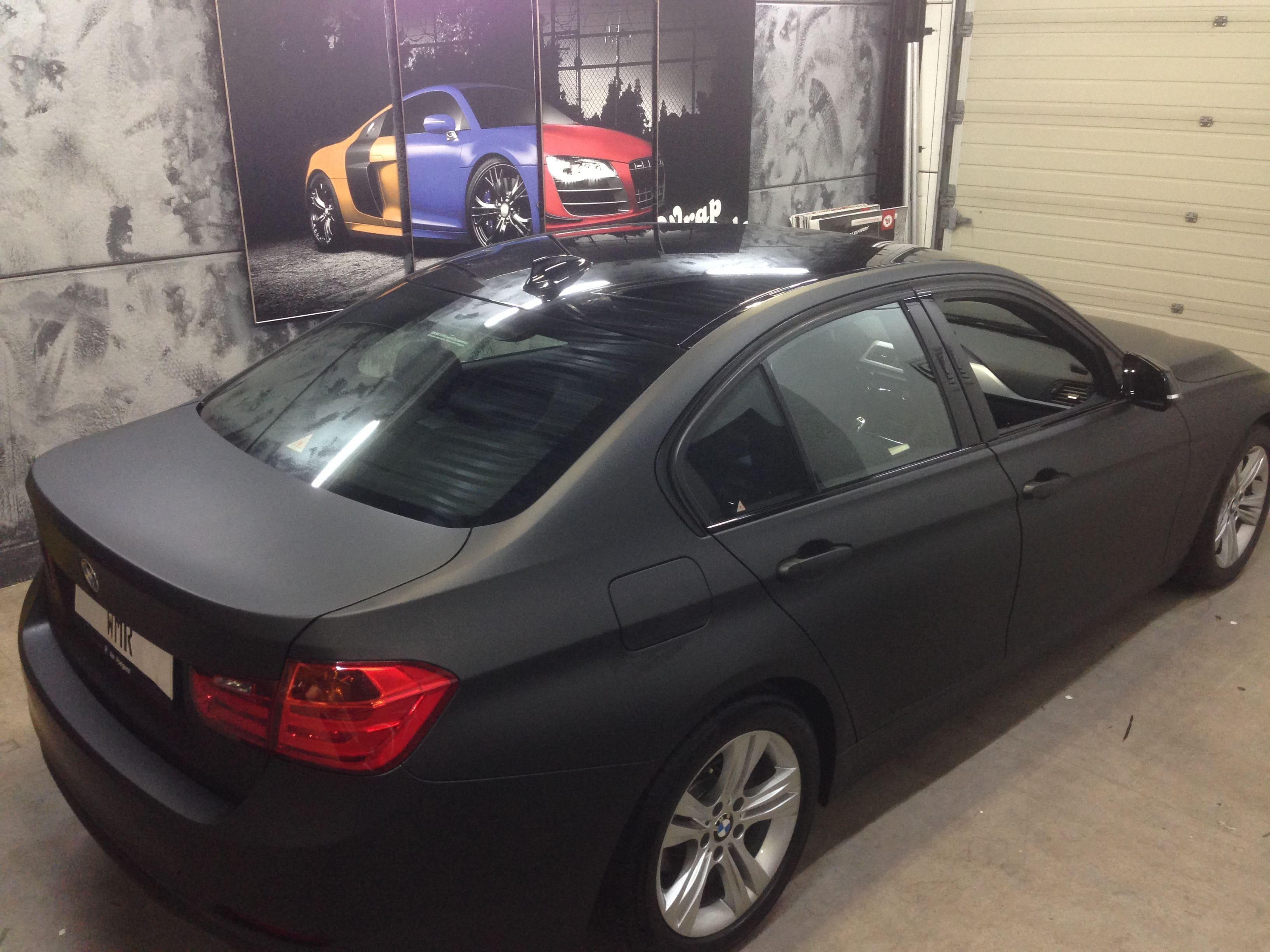 BMW E92 3 Serie met Mat Zwarte Wrap, Carwrapping door Wrapmyride.nu Foto-nr:5413, ©2021