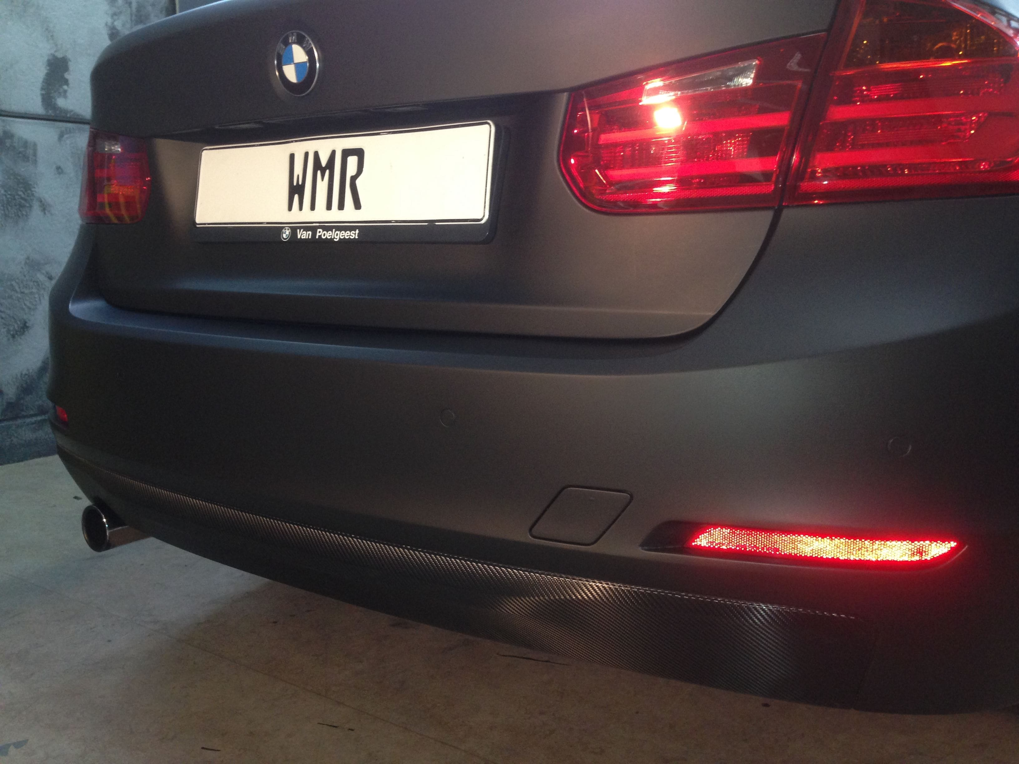BMW E92 3 Serie met Mat Zwarte Wrap, Carwrapping door Wrapmyride.nu Foto-nr:5416, ©2021