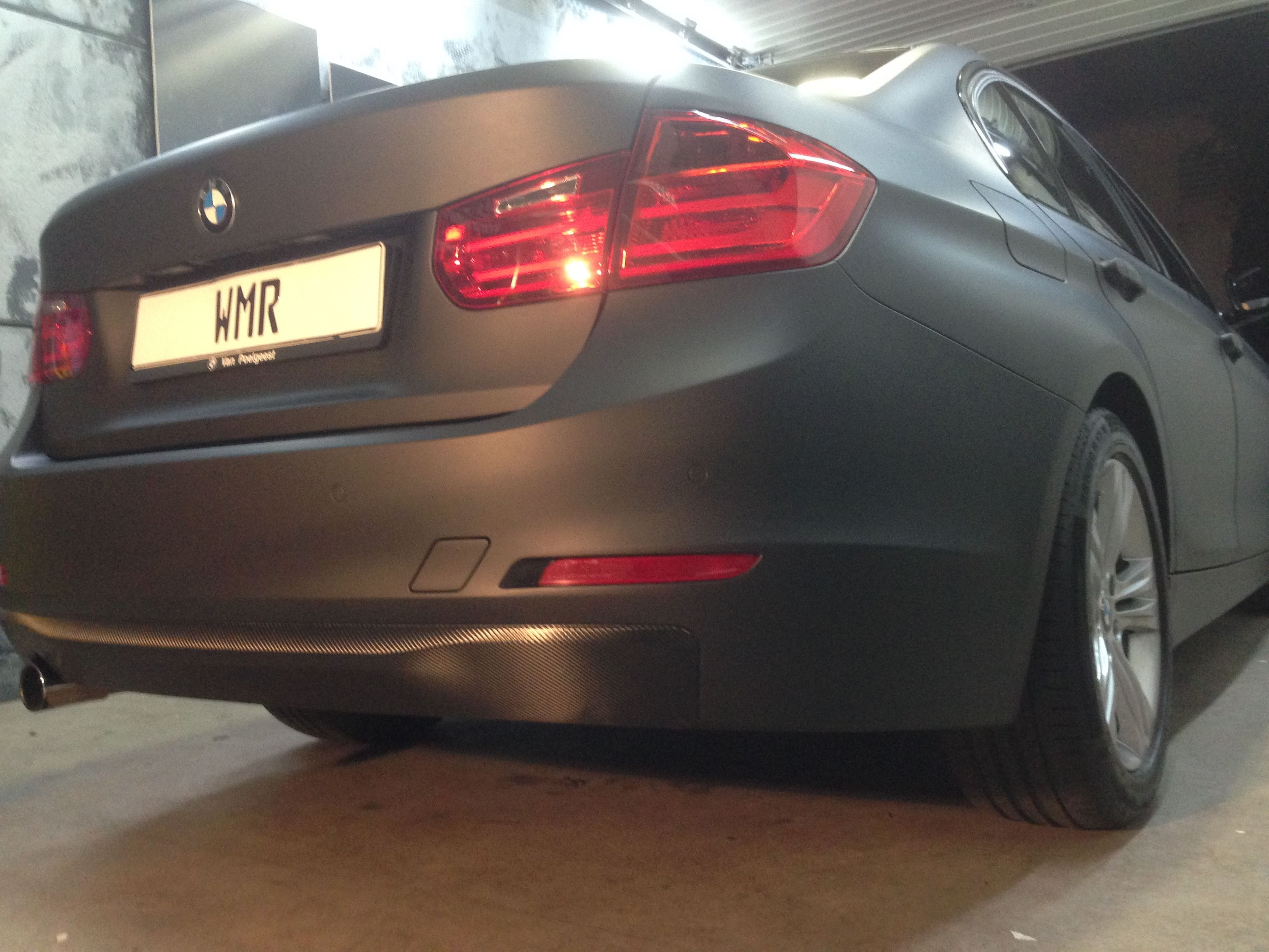 BMW E92 3 Serie met Mat Zwarte Wrap, Carwrapping door Wrapmyride.nu Foto-nr:5418, ©2020