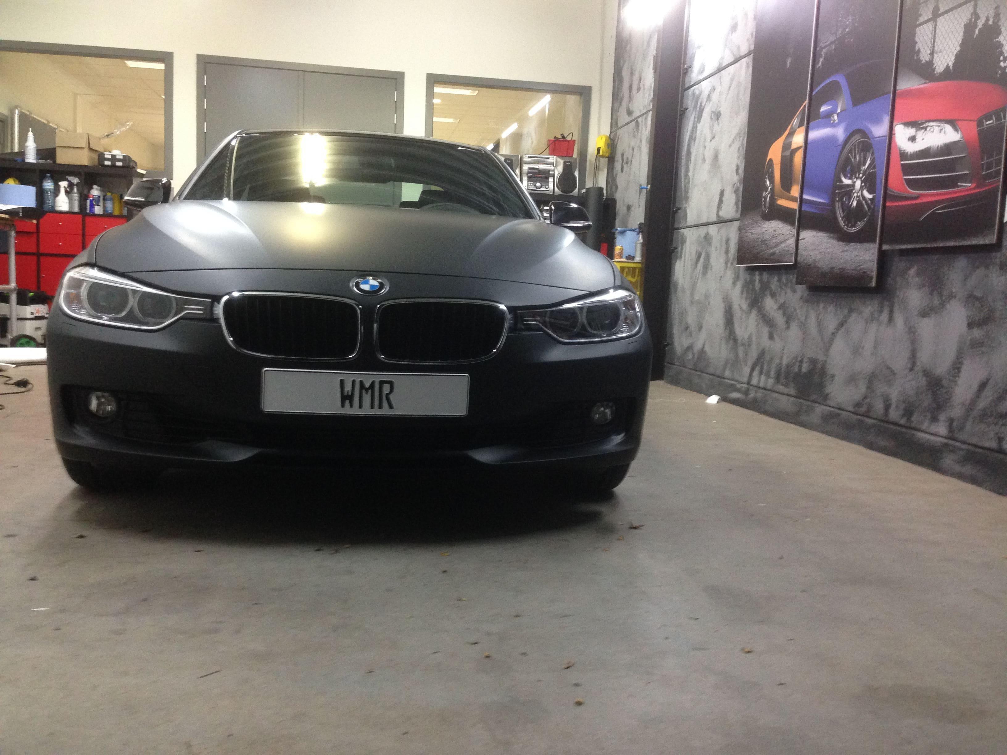 BMW E92 3 Serie met Mat Zwarte Wrap, Carwrapping door Wrapmyride.nu Foto-nr:5419, ©2021