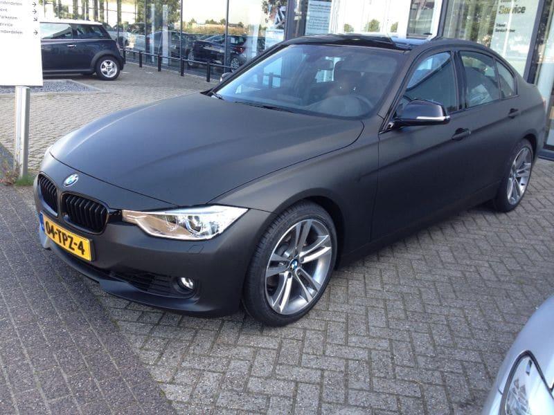 BMW E92 3 Serie met Mat Zwarte Wrap, Carwrapping door Wrapmyride.nu Foto-nr:5422, ©2021