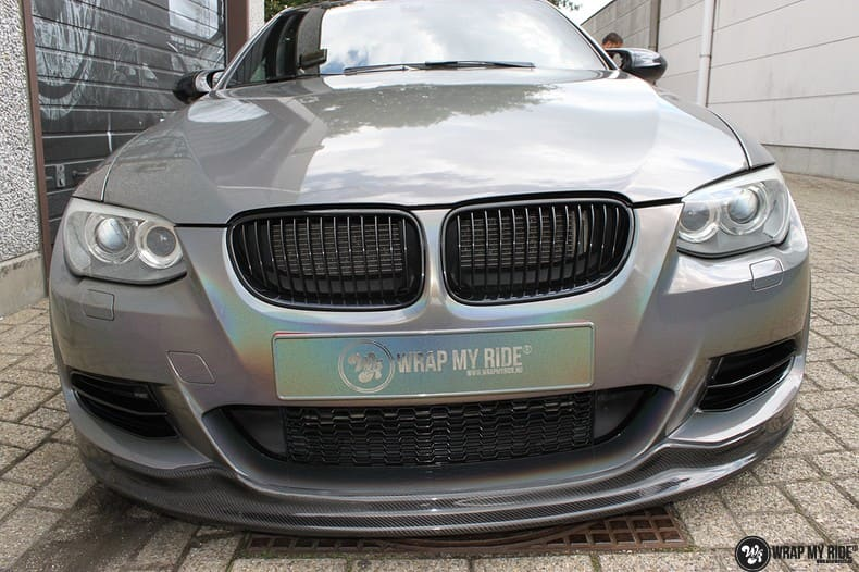 BMW E92 Coupe 3M gloss flip Psycedelic, Carwrapping door Wrapmyride.nu Foto-nr:10253, ©2018