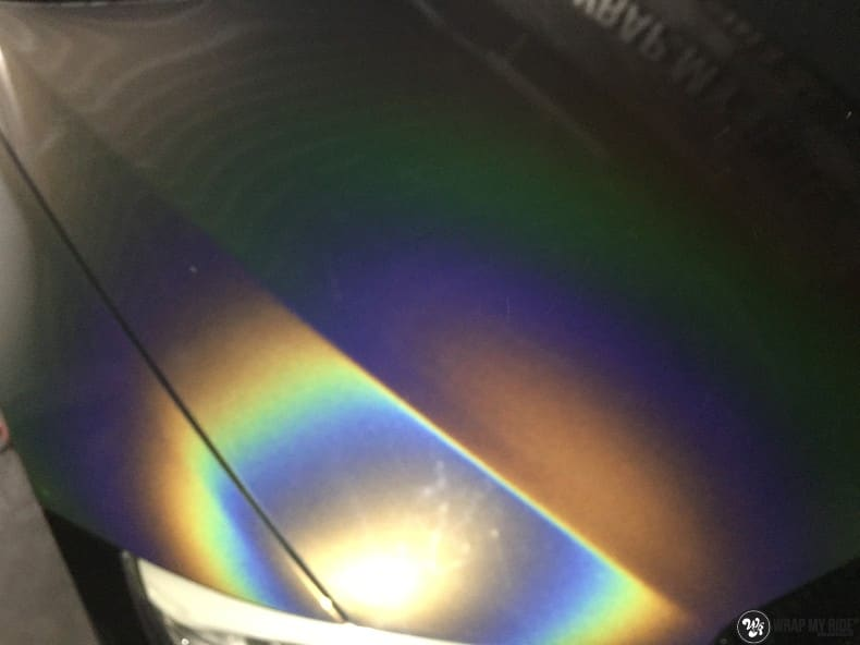 BMW E92 Coupe 3M gloss flip Psycedelic, Carwrapping door Wrapmyride.nu Foto-nr:10265, ©2020