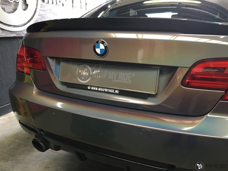 BMW E92 Coupe 3M gloss flip Psycedelic, Carwrapping door Wrapmyride.nu Foto-nr:10258, ©2020