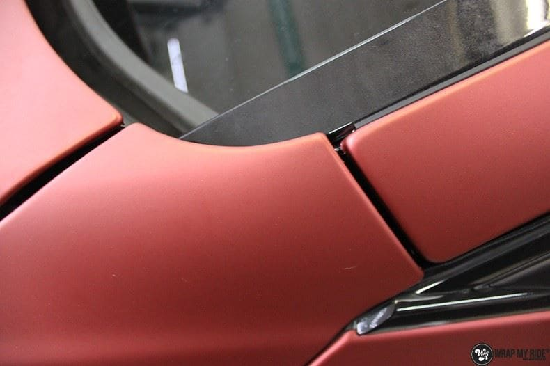 BMW F10 Arlon Red Aluminium, Carwrapping door Wrapmyride.nu Foto-nr:9156, ©2018