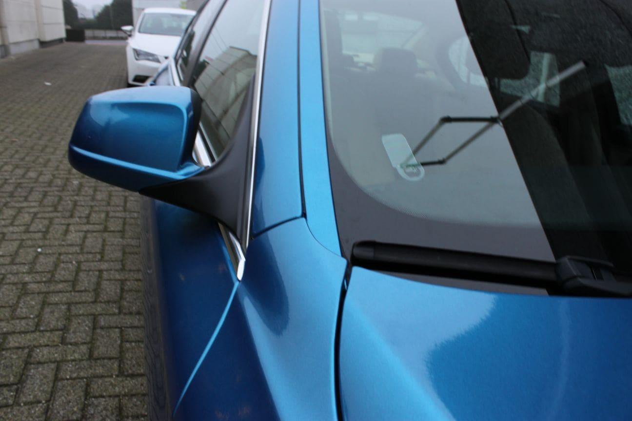 BMW F10 gloss bleu metallic, Carwrapping door Wrapmyride.nu Foto-nr:9513, ©2018
