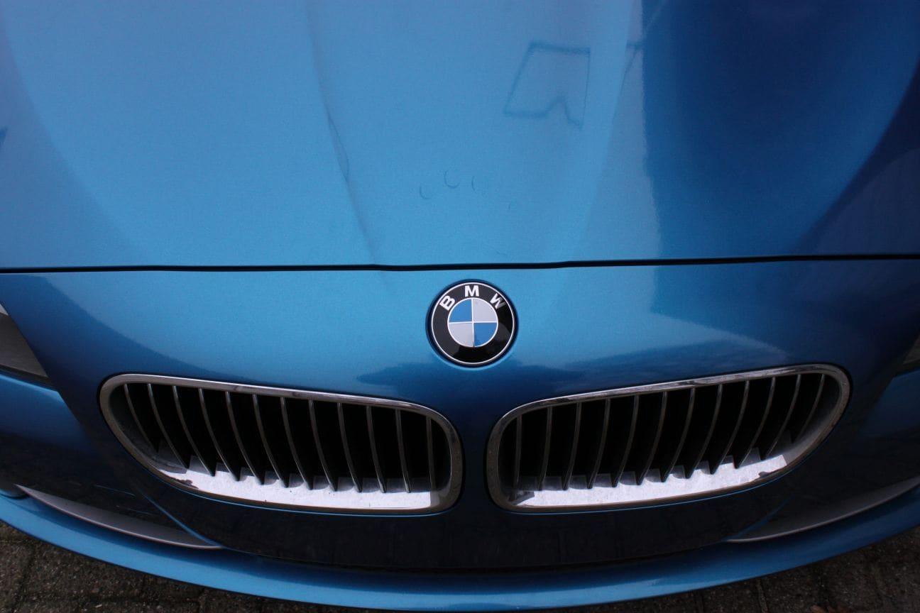 BMW F10 gloss bleu metallic, Carwrapping door Wrapmyride.nu Foto-nr:9501, ©2018